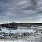 Pano at Lyme Regis by Larry Lingard-Davis