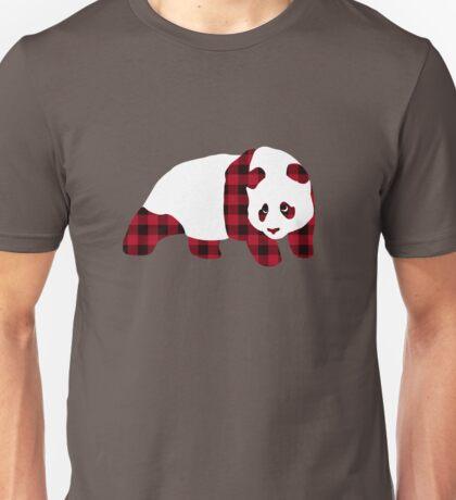 Enjoi X Signori Plaid Panda Unisex T-Shirt