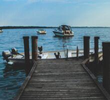 Lake Garda, Italy. Sticker