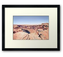 enjoy the view of  the Horseshoe Bend,USA Framed Print
