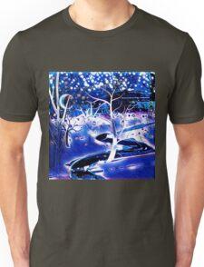 Snowy, Snowy Night Unisex T-Shirt