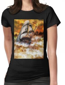 Fire Voyage Womens Fitted T-Shirt
