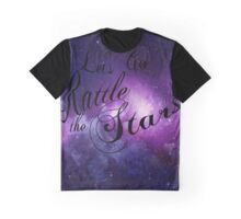 Let's Go Rattle The Stars - Throne of Glass Design Graphic T-Shirt