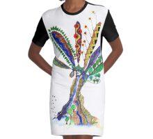 Tree of Life 7 Graphic T-Shirt Dress