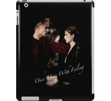 Spike And Buffy - Once More With Feeling iPad Case/Skin