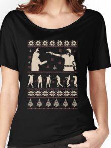 For The Walking Dead Fan Christmas Women's Relaxed Fit T-Shirt