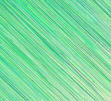 Green Grunge Line Pattern on White Background by amovitania