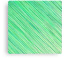 Green Grunge Line Pattern on White Background Canvas Print