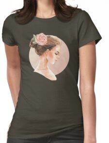 Romantic girl 3 Womens Fitted T-Shirt