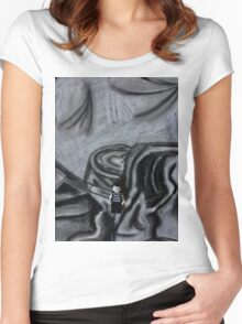 Brickography - Interpretation Women's Fitted Scoop T-Shirt