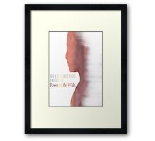 Anya Jenkins - Anyanka Framed Print