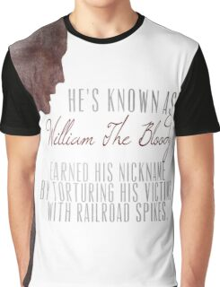 "William ""The Bloody"" Pratt - Spike - Graphic T-Shirt"