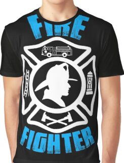 Firefighter - Love It Graphic T-Shirt