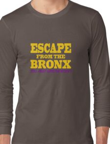 Escape From The Bronx - Leave Now Long Sleeve T-Shirt