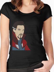 Dr Strange the bargainer Women's Fitted Scoop T-Shirt