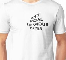 ASBO - Black Text (Chest) Unisex T-Shirt