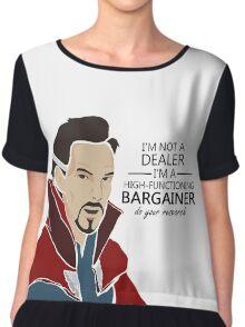 Dr Strange the bargainer Chiffon Top