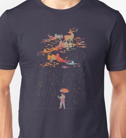 It rain,My deer Unisex T-Shirt
