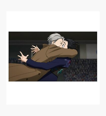 Yuri!!! on Ice - Jump Photographic Print