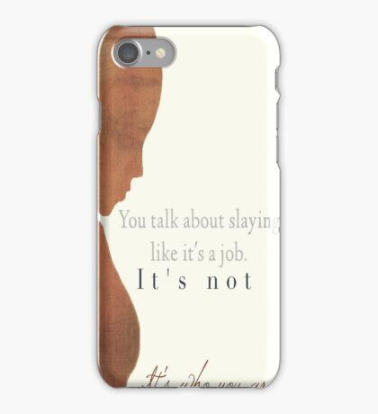 Kendra - The Second Slayer iPhone Case/Skin
