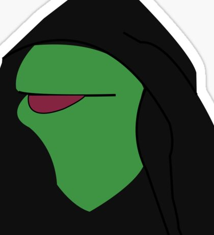 Kermit- Evil Kermit Sticker