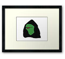Kermit- Evil Kermit Framed Print