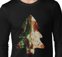 Crypt Keeper Christmas Tree Long Sleeve T-Shirt