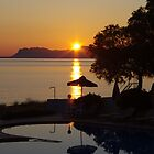 Sunrise Over Zorba's Mountain by Francis Drake