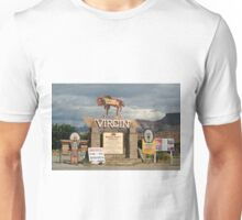Virgin, Utah, USA, town sign Unisex T-Shirt