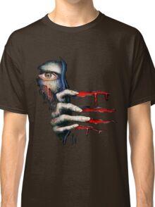 Capcom Resident Evil 2 Classic RARE Design. 100% Redrawn In Adobe Ilustrator Vector Format. Classic T-Shirt
