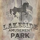 Lakeside Amusement Park by hispurplegloves