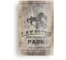 Lakeside Amusement Park Metal Print