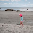 Little Pink Beach Baby by Rebecca Bryson