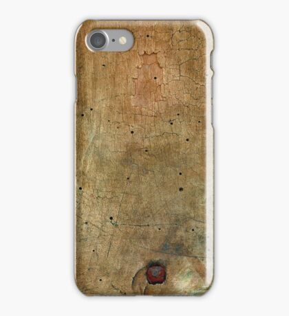 Closeup of Aged Weathered Oak  iPhone Case/Skin