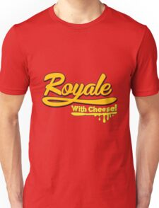 Royale With Cheese Pulp Fiction Unisex T-Shirt