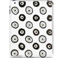 Stylish circles vintage designers Shop iPad Case/Skin