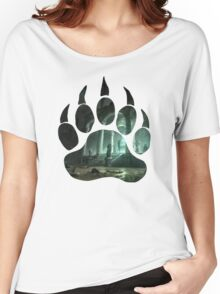 Lara Croft Tomb (Paw) Women's Relaxed Fit T-Shirt