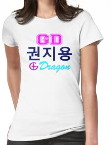 ♥♫Big Bang G-Dragon Cool K-Pop GD Clothes & Phone/iPad/Laptop/MackBook Cases/Skins & Bags & Home Decor & Stationary♪♥ Womens Fitted T-Shirt
