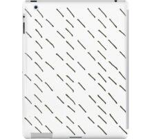 New! Amazing rain black and white iPad Case/Skin