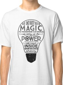 Official Lumos Be the Light T-shirt Classic T-Shirt
