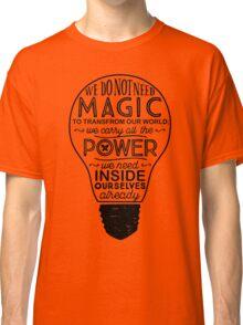 Official Lumos Be the Light T-shirt Classic T-Shirt