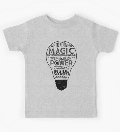 Official Lumos Be the Light T-shirt Kids Tee
