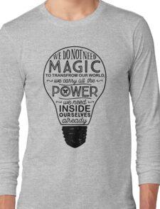 Official Lumos Be the Light T-shirt Long Sleeve T-Shirt