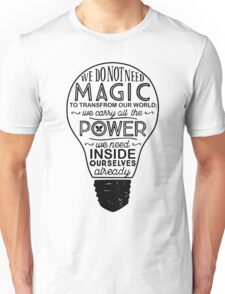 Official Lumos Be the Light T-shirt Unisex T-Shirt