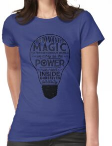 Official Lumos Be the Light T-shirt Womens Fitted T-Shirt
