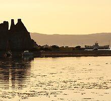 Lochranza Castle Sunset by Jonathan Cox