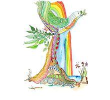 Tree of Life #19 - Peace Bird Photographic Print