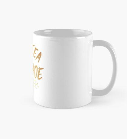 All Tea No Shade Gold Print Mug