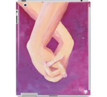 Loving touch iPad Case/Skin