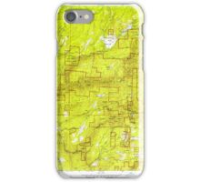 USGS TOPO Map California CA Sly Park 300540 1953 24000 geo iPhone Case/Skin